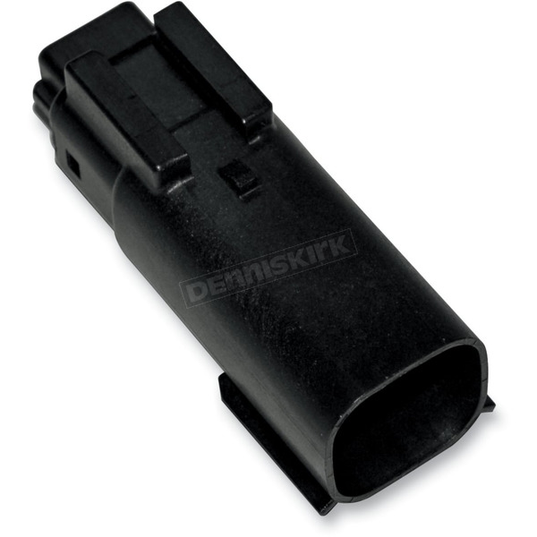 NAMZ Custom Cycle Products Black Molex MX 150 6-Pin Male Connector - NM-33482-0601