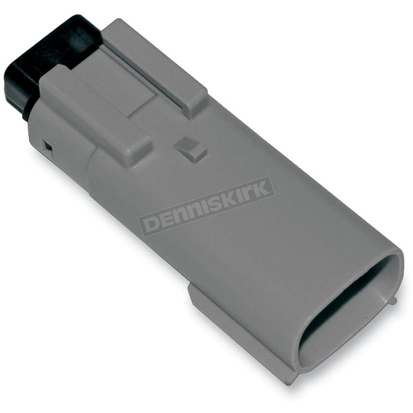 NAMZ Custom Cycle Products Gray Molex MX 150 3-Pin Male Connector - NM-33481-0302