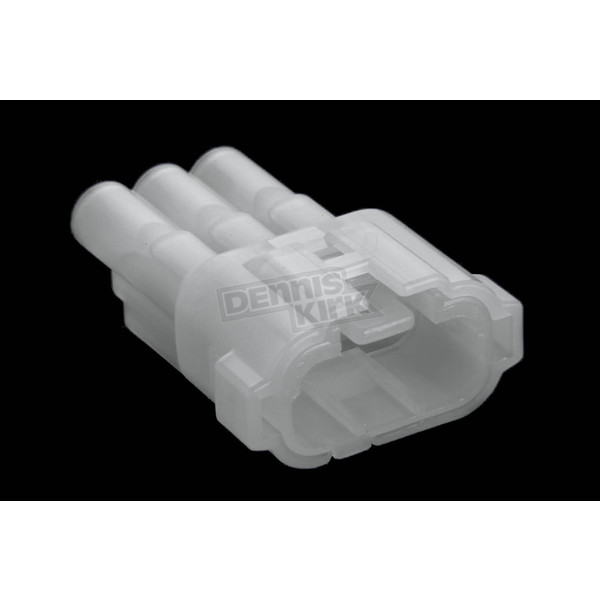 NAMZ Custom Cycle Products 3-Position Male Connectors - NS-6187-3801