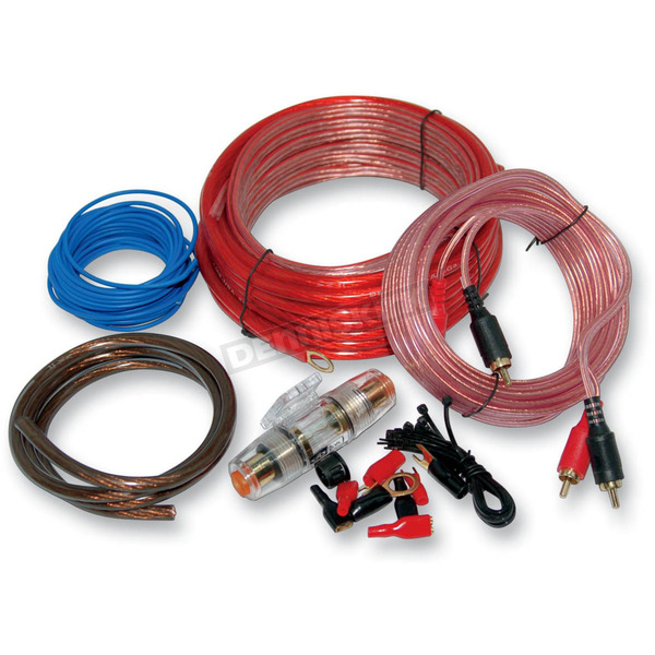 NAMZ Custom Cycle Products AMP Installation Kit w/8-gauge Wire - NAPK-8G