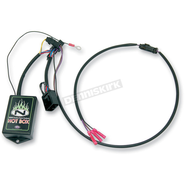 NAMZ Custom Cycle Products Tour-Pak Quick Disconnect Wiring Harness with Brake/Turn/Running Lights - NTP-HR02