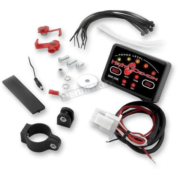 Heat Demons Replacement Quad Zone Controller w/Mounting Kit - 210096C