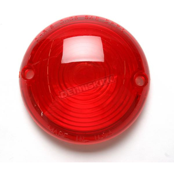 Chris Products Red Turn Signal Lens - DHD3R