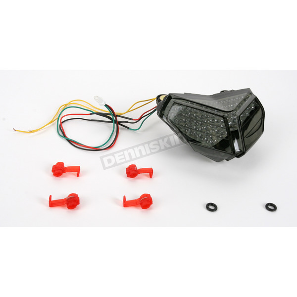 Clear Alternatives Integrated Turn Signal/LED Taillight Kit W/Smoke Lens - CTL0110ITS