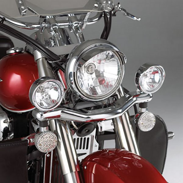 Show Chrome Accessories 3 1/2 in. Contour Driving Light Kit - 63-312