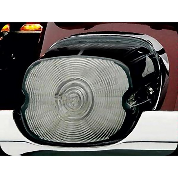 Kuryakyn Smoke Laydown Taillight Lens w/o License Plate Window - 5450