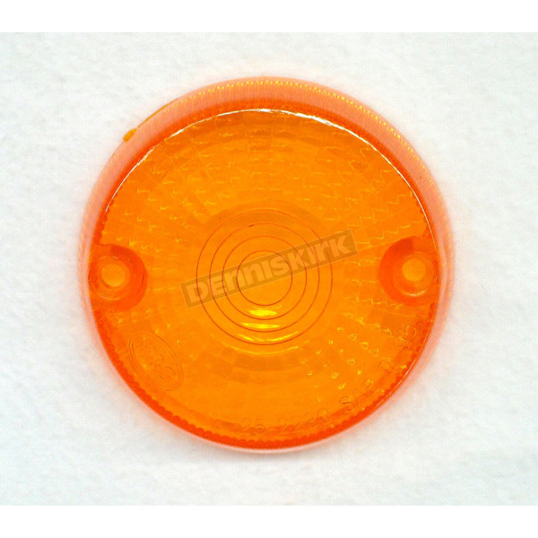 K & S Replacement Amber Lens - 25-1060