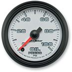 2 1/16 in. Phantom II Oil Pressure Gauge - 19552