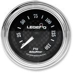 Lighted Diamond Cut Air Pressure Gauge - 2212-0494
