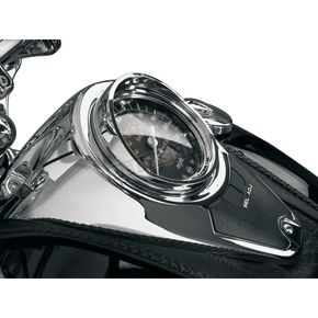 Show Chrome Speedo Visor - 53-438