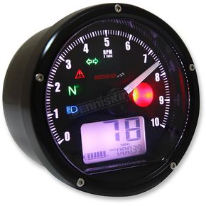 Koso North America T and T Tachometer/Speedometer - BA035K00