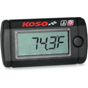 Koso North America Mini Temperature Gauge - BA003035