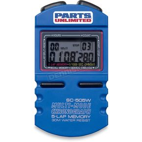 Parts Unlimited Multi-Mode Stopwatch - 2212-0294