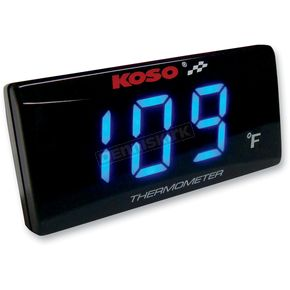 Koso North America Super Slim Temperature Gauge - BA024B11