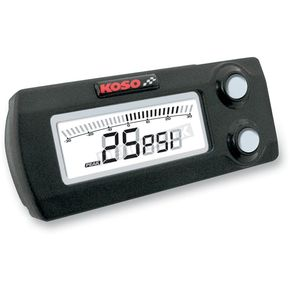 Koso North America X-1 Boost Gauge - BA029000