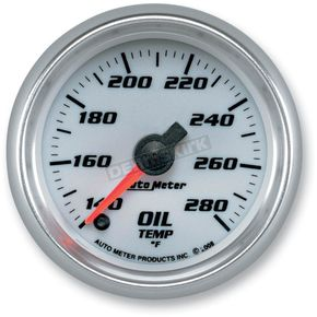 Auto Meter 2 1/16 in. C2 Oil Temperature Gauge - 19740