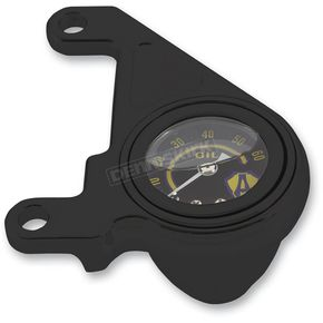 Arlen Ness Black Oil Pressure Gauge Kit - 15-675