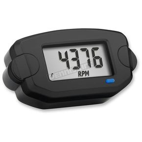 Black Tach/Hour Meter - 742-AOO