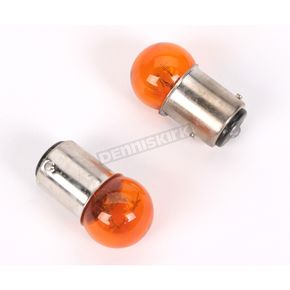 Drag Specialties Dual Filament 23/8W 12V Amber Bulbs - 2060-0026