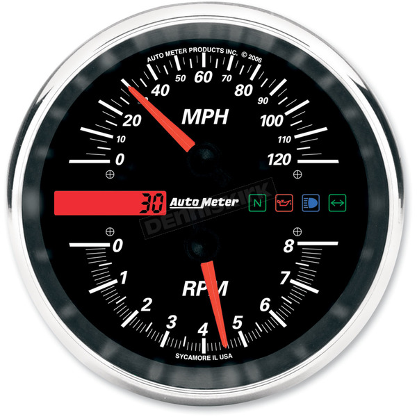 Auto Meter Tachometer/Speedometer Drop-In Gauge - 19466