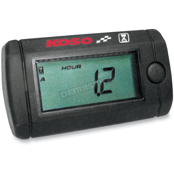 Koso North America Mini Engine Hour Meter - BA005010