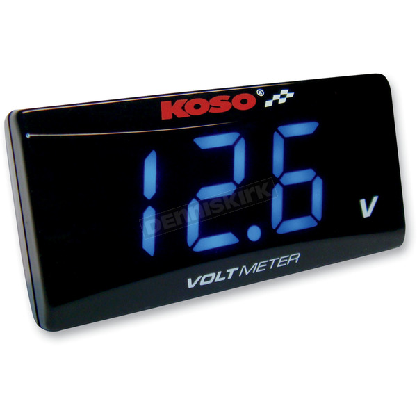 Koso North America Super Slim Volt Meter - BA024B00