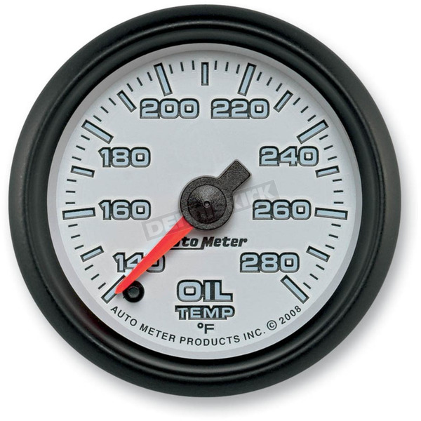 Auto Meter 2 1/16 in. Phantom II Oil Temperature Gauge - 19540