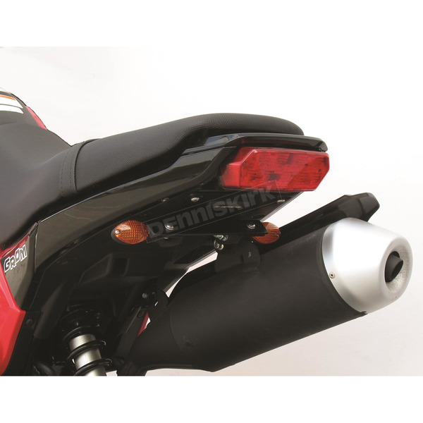 Targa Tail Kit with Black/Amber Turn Signals - 22-168-L