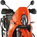 Solid Orange Shorty Adventure Windscreen - 2312-0221
