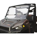 Clear Full Folding Utility Windshield - 2317-0176