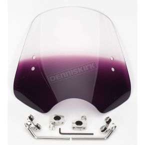 Memphis Shades Gradient Purple Shooter Windshield - MEM1614