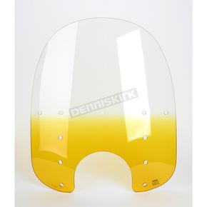 Memphis Shades Replacement Memphis Fats Gradient Yellow Windshield Plastic for Standard  5 3/4 in. - 7 in. Headlights - MEP3315