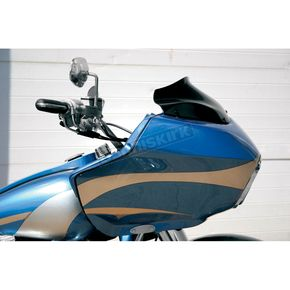Klock Werks WFB 8 in. Black Flare Windshield - 2310-0196