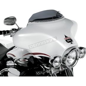 Klock Werks Dark Smoke WFB 3.5 in. Flare Windshield - 2310-0223