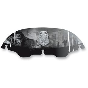 Drag Specialties 8 in. Firefighter Windscreen - 2310-0337