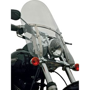 Klock Werks 19.5 in. Clear Flare Billboard Windshield - KW05-02-0223