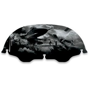 Drag Specialties 8 in. Air Force Ground Windscreen - 2310-0360