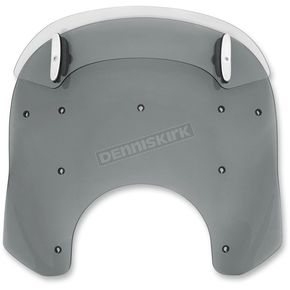 Memphis Shades Black Drop Top 15-18 in. Relacement Plastic for Road King Windshields - MDP62210
