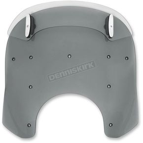 Memphis Shades Black Drop Top 17-20 in. Relacement Plastic for Road King Windshields - MDP63210