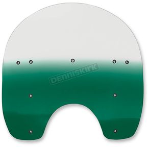 Memphis Shades 15 in. Replacement Gradient Teal Plastic for use with OEM HD Hardware - MEP6183