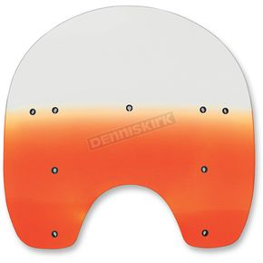 Memphis Shades 15 in. Replacement Gradient Burnt Orange Plastic for use with OEM HD Hardware - MEP6187