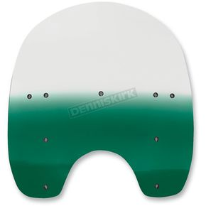 Memphis Shades 17 in. Replacement Gradient Teal Plastic for use with OEM HD Hardware - MEP6283