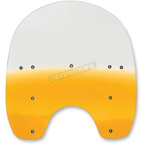 Memphis Shades 17 in. Replacement Gradient Yellow Plastic for use with OEM HD Hardware - MEP6285