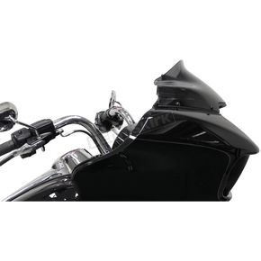 Dark Smoke 9 in. Sport Flare Windshield - 2310-0581