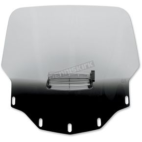 Memphis Shades Gradient Black Vented Windshield - 2312-0151
