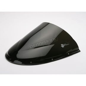 Zero Gravity Dark Smoke Double Bubble Windscreen - 16-726R-19
