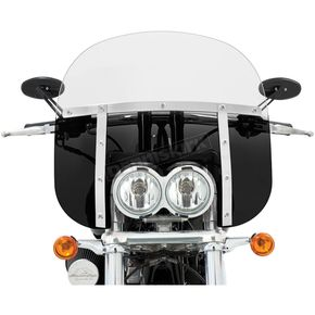 Memphis Shades Memphis Fats 13 in. Windshield for FXDF - 2313-0123