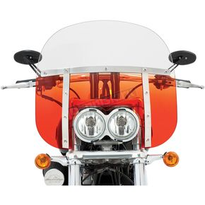 Memphis Shades Memphis Fats 13 in. Windshield for FXDF - MEM6637