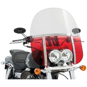 Memphis Shades Memphis Fats 17 in. Windshield for FXDF - MEM6832
