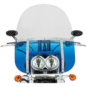 Memphis Shades Memphis Fats 19 in. Windshield for FXDF - MEM6936